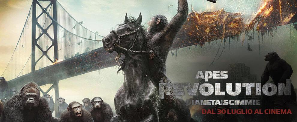 Aper Revolution - Il pianeta delle scimmie